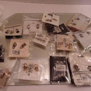 Eleganta ETC.... Jewelry - 15 Pairs Nwts Clip On Earrings. retail $170 L11-4